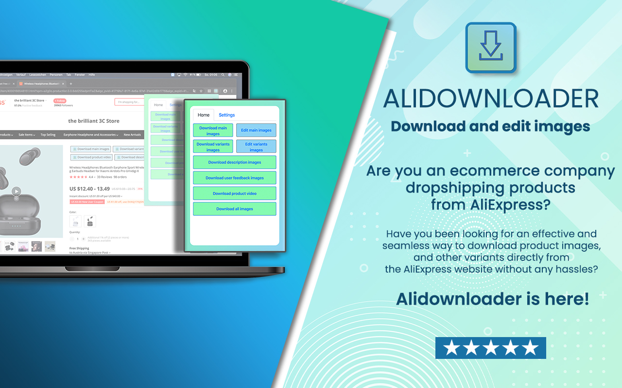 AliDownloader - Main product images