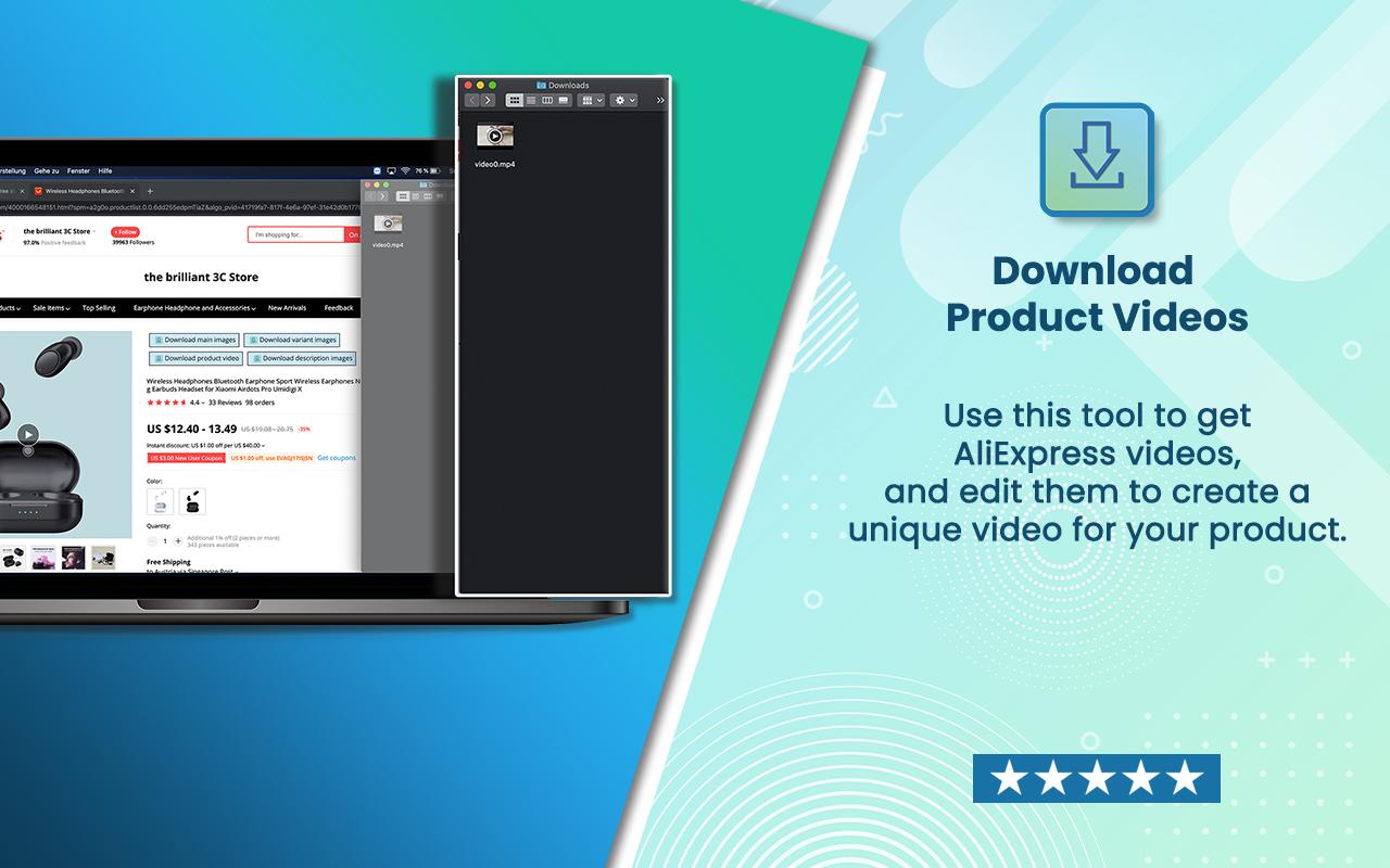 AliDownloader - AliExpress product videos